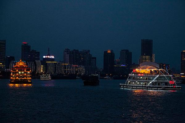 Cruceros por el río Huangpu
